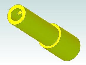 Handle for the Z axis of a SumPod 3D printer