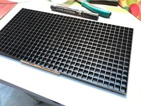 16x16 separator grid for LED matrix