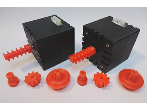 fischertechnik Minebea NEMA 17 stepper motor case