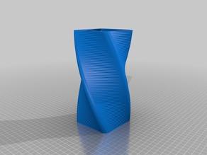 Vase Carré spirale