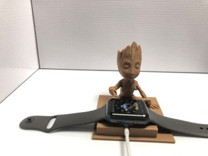 Baby Groot Apple Watch Holder