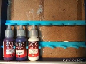 Vallejo paint holder horizontal