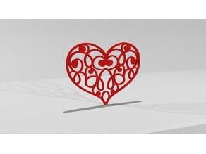 Valentine Gift - Heart Baroque