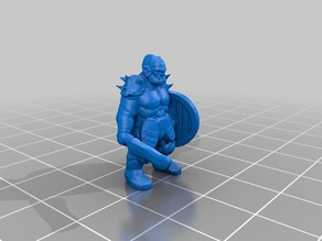 18mm orcs for D&D