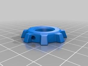 Factorio Gear Keychain