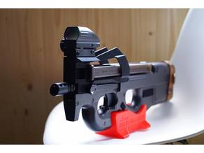 P90 AIRSOFT STAND