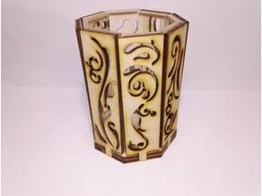 wind proofed lantern