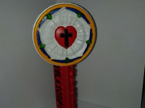 Luther's Seal Beer Tap Handle