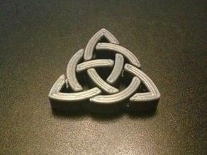 Triquetra Celtic Pendant - Parametric