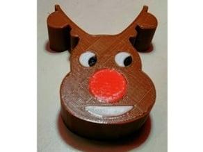Reindeer Face Ornament