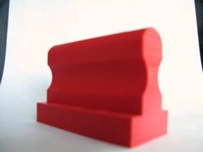 rubber stamp holder