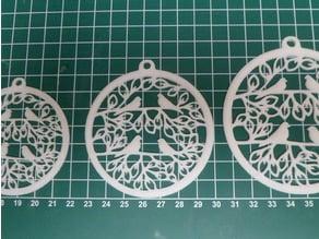 Christmas Tree Ornament - Pigeons Flat