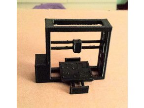 LulzBot TAZ1 3D Printer Model