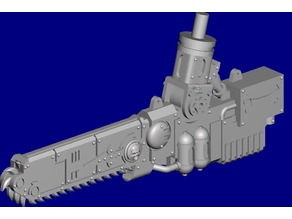 Motorized Blade for Dominion Crusader MK3 (28mm)
