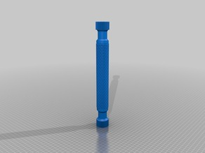 Honeycomb roller press.