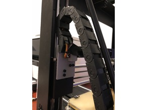 i3 Plus cable chain end links - full solution.