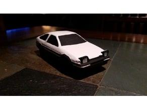 XMODS Toyota Trueno Body Shell
