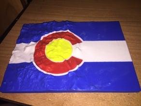 Colorado terrain flag