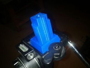 FLIR camera tripod mount with square base