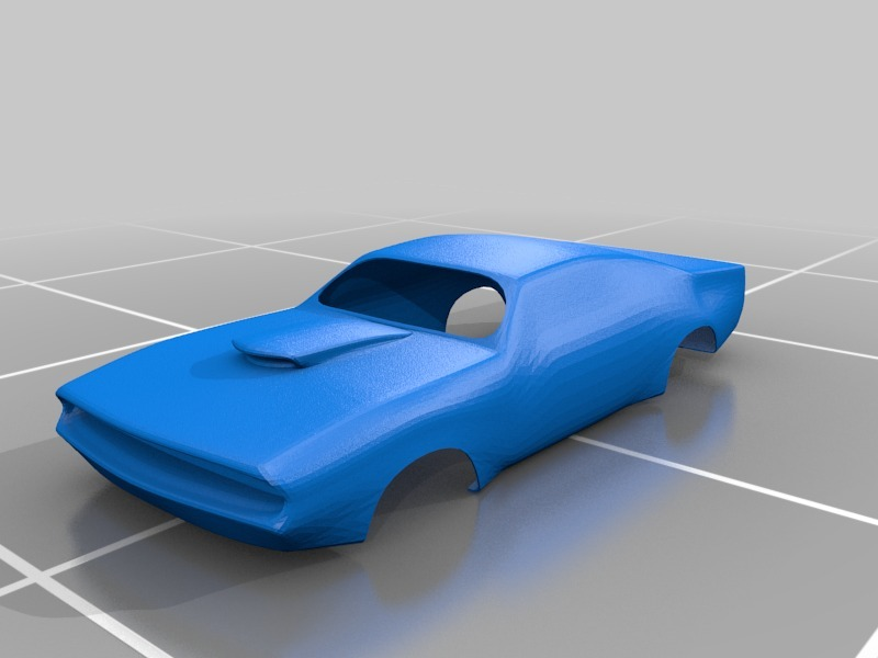 Muscle Car Body By Jodroboxes Thingiverse