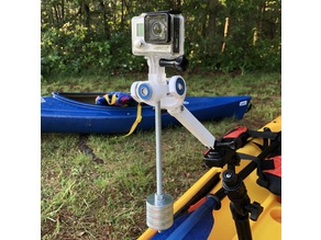 GoPro SteadiCam Gimbal for Kayak