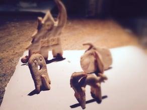 3D Halloween Cookie Cutters
