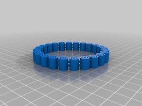 My Customized Flexy Jingly Bracelet 63cm diameter