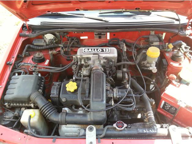 Gallo 12 full swap kit for Subaru Justy EF12-E by Justy_guy