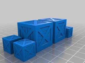 D&D Wooden Crates