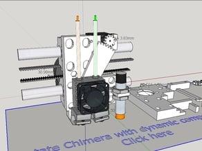 E3d Chimera with tilt mechanism