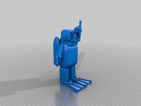 Diver Figurine