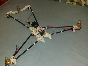 """Firefly"" Tiltrotor Tricopter (Project paused)"