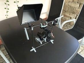 Monitor Mount for Handheld Gimbal