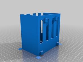 My Customized Raspberry Pi 2/3 Rack (4x)