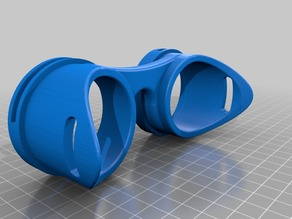 Remixed goggles for 55mm steampunk iris