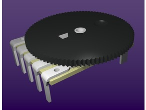 Wheel Potentiometer (audio taper variable resistor)