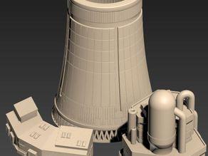 Nuclear Power Plant - wargame terrain building