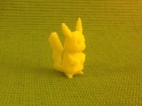 Tail-strengthened Pikachu