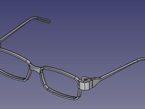 Printable Eyeglasses Frame (Bronx E Black 145)
