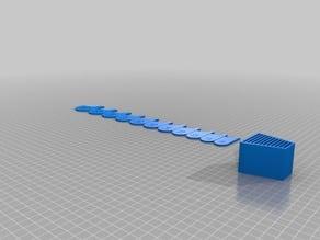 My Customized Parametric () Radius Gauge 10 to 20