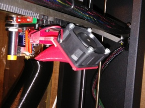 PrintRBot Metal Plus Fan Shroud for E3D Hot End