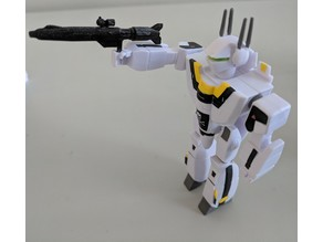 Jetfire/Robotech/Macross Gun (ReAction scale)