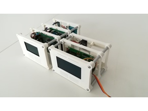 Modular Frame System for Arduino and Raspberry
