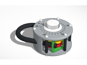 Large combination lock - Configurable
