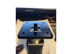 NEMA17 Geared Stepper Motor Adaptor Plate