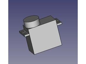 HD-1501MG - servomotor fingerprint (empreinte servomoteur)