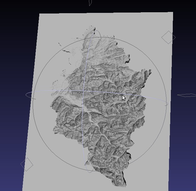 Heightmap to STL by mfussi - Thingiverse