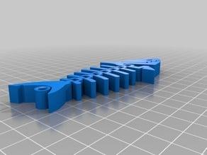 Shark keychain reworked V2
