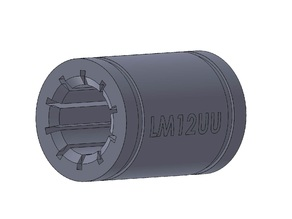 Linear bearing LM12UU - Igus Style by 2c2know