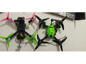 Quadcopter and Wing Wall support